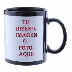 Taza  color fotoluminiscente personalizable