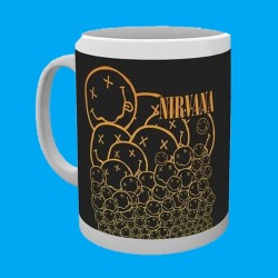 Taza NIRVANA - Smiley Logo