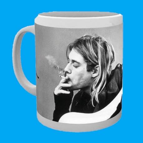 Taza Kurt Cobain - Smoking