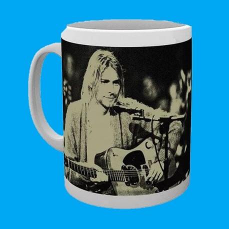 Taza Kurt Cobain - Unplugged & Live