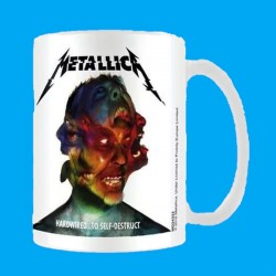 Taza METALLICA - Hardwired... To Self-Destruct