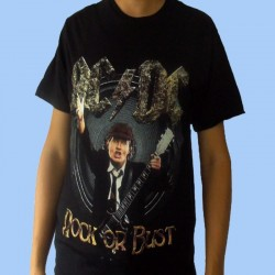 Camiseta AC/DC - Rock Or Bust - Angus