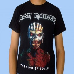 Camiseta IRON MAIDEN - The Book Of Souls