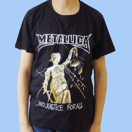 Camiseta METALLICA - ... And Justice For All