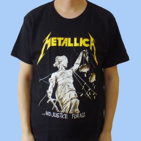 Camiseta METALLICA - ... And Justice For All - Vintage