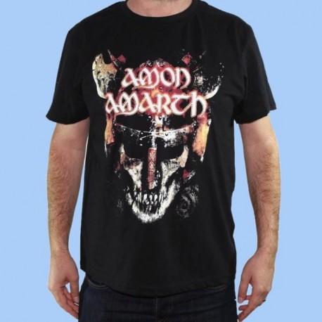 Camiseta AMON AMARTH - Viking Skull