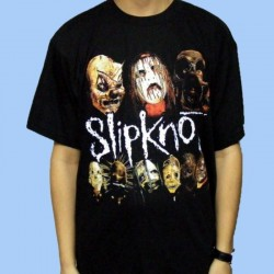 Camiseta SLIPKNOT - Masks