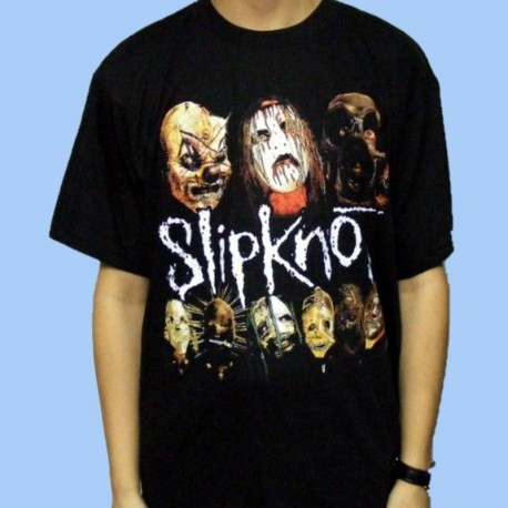 Camiseta SLIPKNOT - Masks