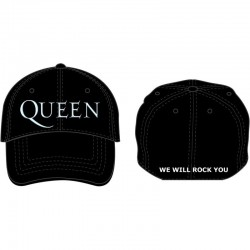 Gorra QUEEN - Logo blanco