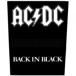 Parche para espalda AC/DC - Back In Black