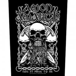 Parche para espalda AMON AMARTH - Bearded Skull