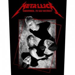 Parche para espalda METALLICA - Hardwired ... To Self - Destruct Concrete
