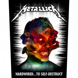 Parche para espalda METALLICA - Hardwired ... To Self - Destruct