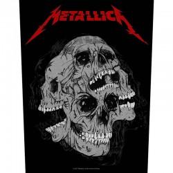 Parche para espalda METALLICA - Skulls