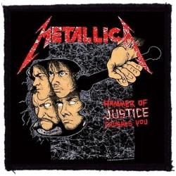 Parche METALLICA - Hammer of Justice
