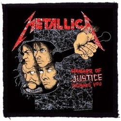 Parche METALLICA - Hammer of Justice