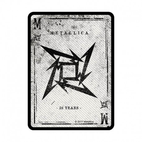 Parche METALLICA - Nuevo Logo - 30 años