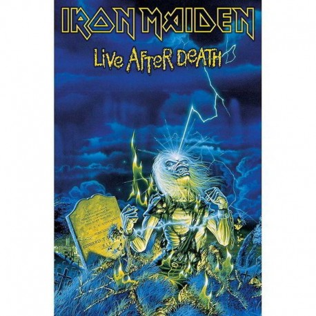 Bandera IRON MAIDEN - LIVE AFTER DEATH