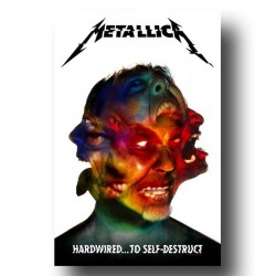 Bandera METALLICA - HARDWIRED... TO SELF-DESTRUCT