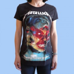 Camiseta mujer METALLICA - Hardwired...To Self-Destruct