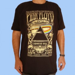 Camiseta PINK FLOYD - Dark Side Of The Moon - Tour 1972