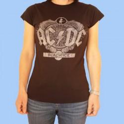 Camiseta mujer AC/DC - Black Ice