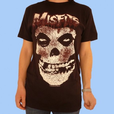 Camiseta MISFITS - BLOOD DRIP SKULL