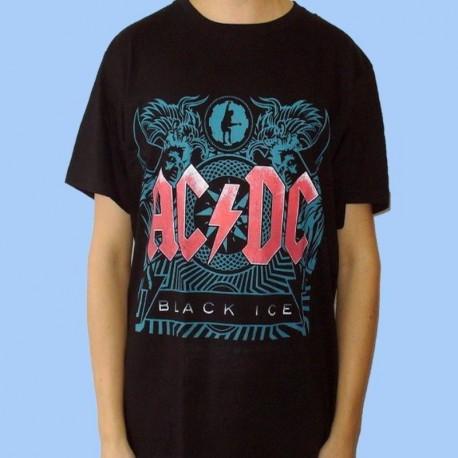 Camiseta AC/DC - Black Ice