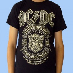 Camiseta AC/DC - Dirty Deeds