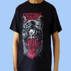 Camiseta CANNIBAL CORPSE - Horns