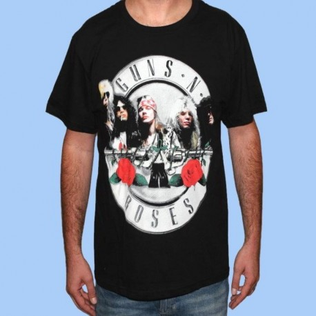 Camiseta GUNS N ROSES - Logo band