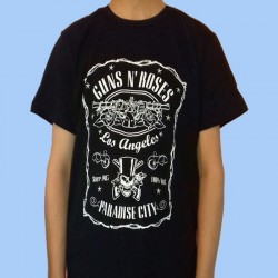 Camiseta GUNS N ROSES - Paradise City