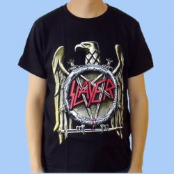 Camiseta SLAYER - Eagle Logo