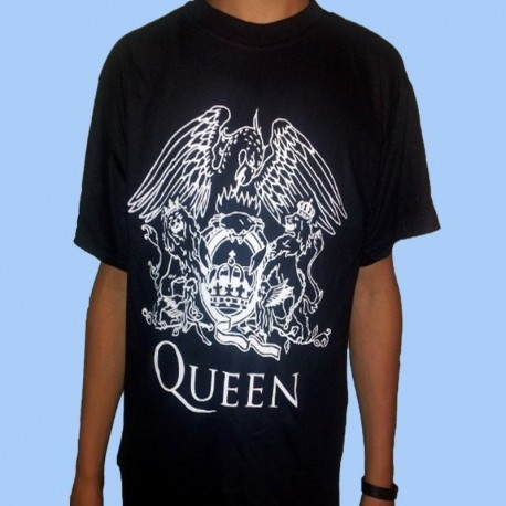 Camiseta QUEEN - Crest logo