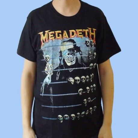Camiseta MEGADETH - Countdown to Extinction