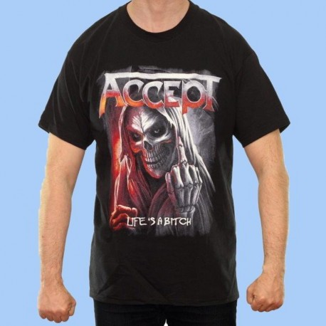Camiseta ACCEPT - Life's A Bitch