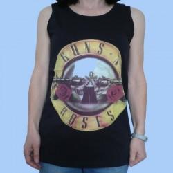 Camiseta sin mangas unisex GUNS N'ROSES - Logo