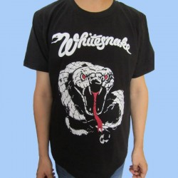 Camiseta WHITESNAKE - Whitesnake Logo