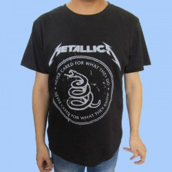 Camiseta METALLICA - Nothing Else Matters