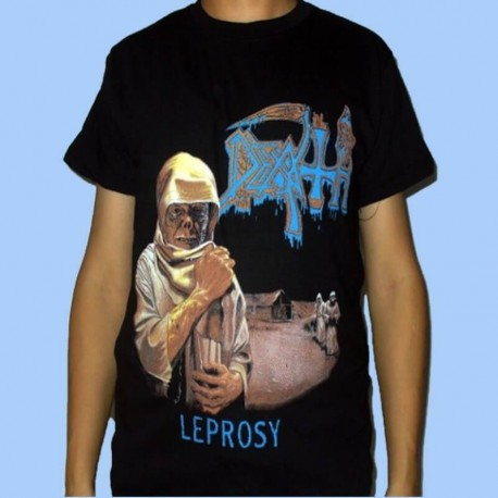 Camiseta DEATH - Leprosy