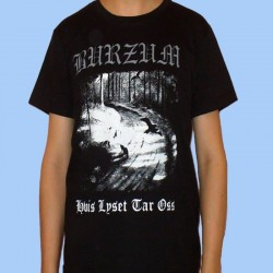 Camiseta BURZUM - Hvis Lyset Tar Oss