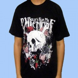 Camiseta BULLET FOR MY VALENTINE - Skull