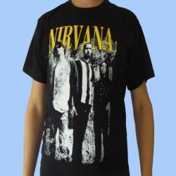 Camiseta NIRVANA - Foto de la banda