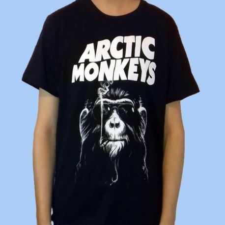 Camiseta ARCTIC MONKEYS - Smoking Monkey
