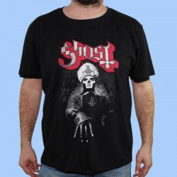 Camiseta GHOST - El Papa rojo