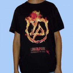 Camiseta LINKIN PARK - Burning in the Skies