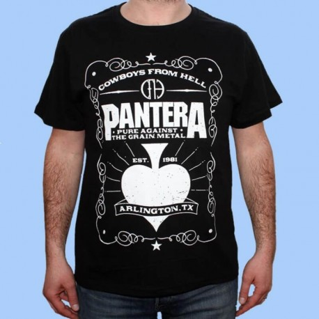 Camiseta PANTERA -  Cowboys From Hell