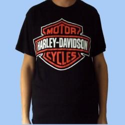 Camiseta HARLEY DAVIDSON - Logotipo grande