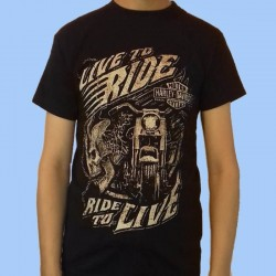 Camiseta HARLEY DAVIDSON - Live to Ride