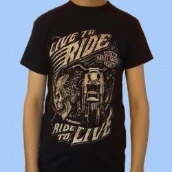 Camiseta HARLEY DAVIDSON - Live to Ride